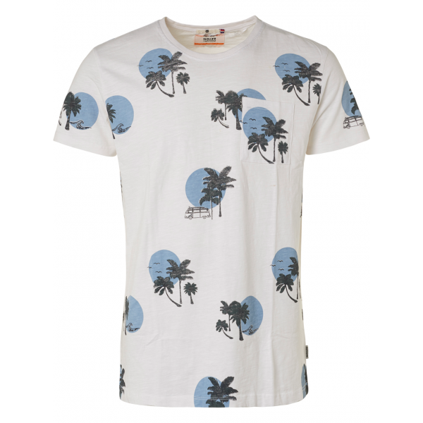 Noize t-shirt s/s palmtrees