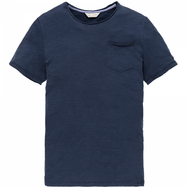 Cast Iron r-neck slub jersey t