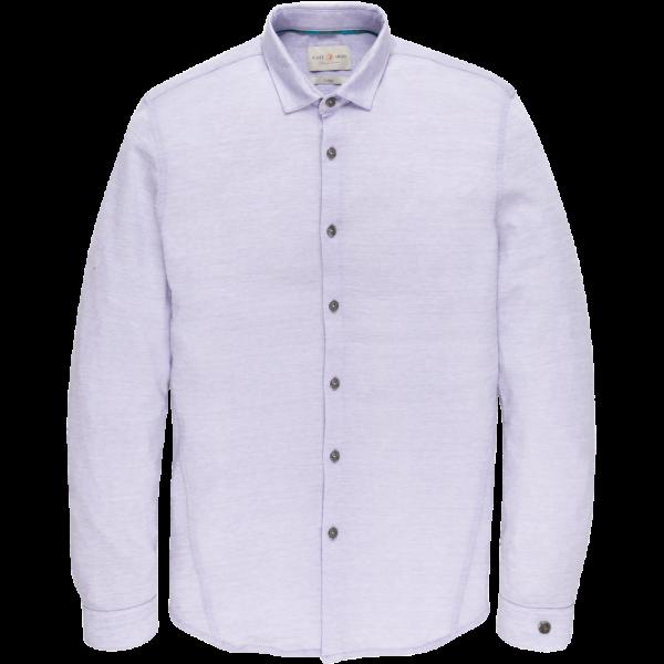 Cast Iron pique jacquard shirt