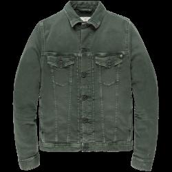 Cast Iron colored denim jacket