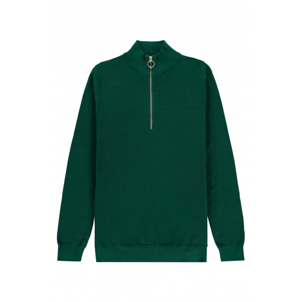 Kultivate knit half zip