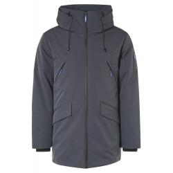 Qubz long sofshell hood jacket