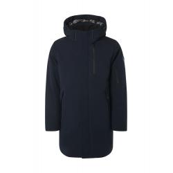 Qubz long fit hood jacket